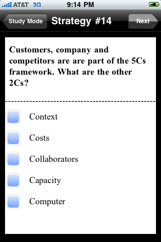 About Case Maestro - iPhone App for Strategy Consulting Interview