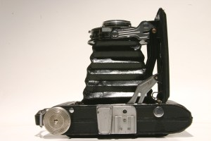 Concertina camera from top
