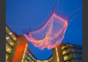 Impatient Optimist by Janet Echelman
