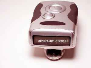 Pager Message1