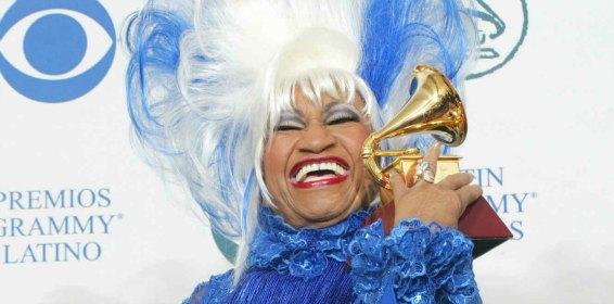 Celia Cruz recibirá un Grammy a la Excelencia Musical