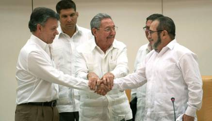 La firma de la paz será el 21 y el 26 de septiembre