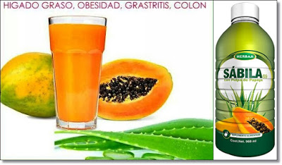 SABILA Y PAPAYA PARA EL COLON IRRITABLE
