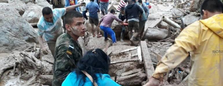 Nuevo balance de Medicina Legal reporta 173 desaparecidos y 312 muertos en Mocoa