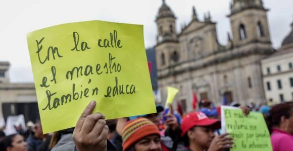 Fecode prepara nuevas marchas en el marco del paro nacional