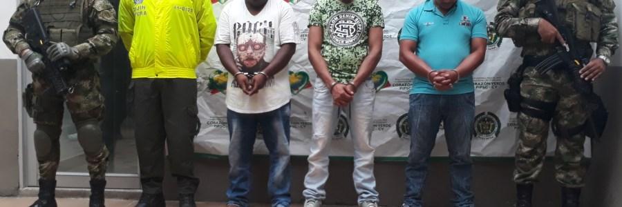 Capturados 15 sujetos señalados por homicidio