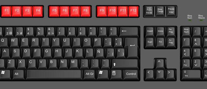 TECNOLOGÍA Las funciones de los botones F del teclado