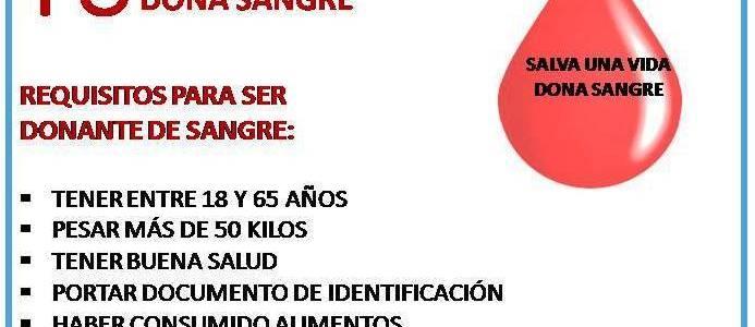 JORNADA DE DONACIÓN DE SANGRE EN CAREPA