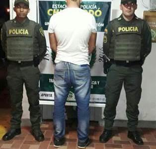 CHIGORODÓ CAPTURA EN FLAGRANCIA POR EL PRESUNTO DELITO DE ACCESO CARNAL VIOLENTO