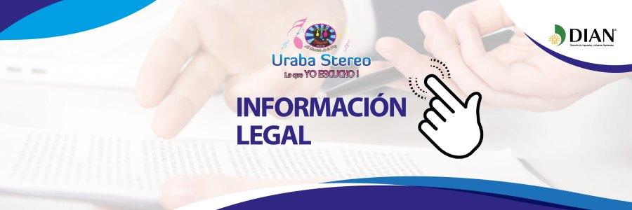 Información Legal Urabá Stereo 2020