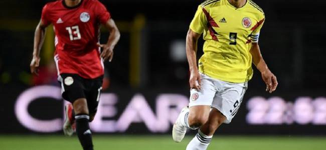 Colombia empató 0-0 con Egipto antes del Mundial