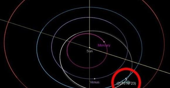 Asteroide pasará cerca de la Tierra en dos semanas