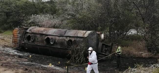 Una babilla causó volcamiento de camión que explotó y ocasionó tragedia en Magdalena