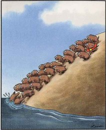 Far Side Lemmings
