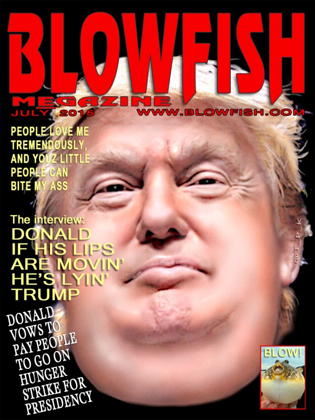 BLOW Trump FISH