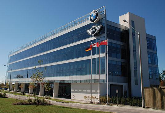 BMW Canada Head Office - Urbacon - bmw corporate office