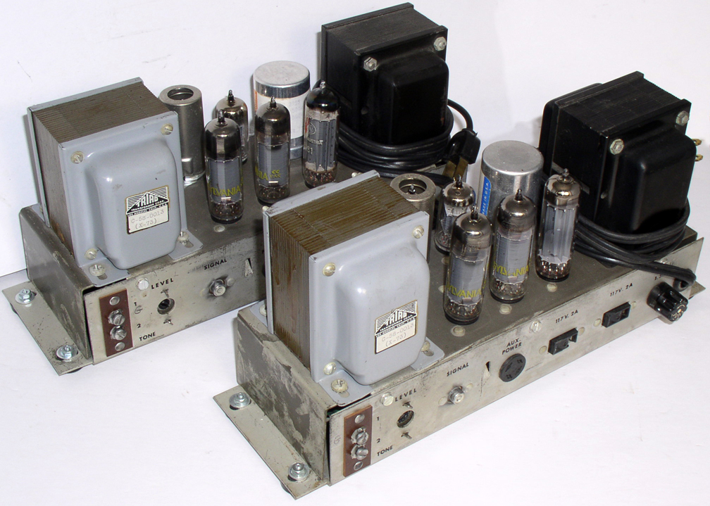 stereo system from the early 1960u0027s by Ampex6973 power tube - p amp amp l statement