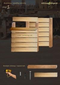Komposter selbst bauen | Bauanleitung Kompostkasten