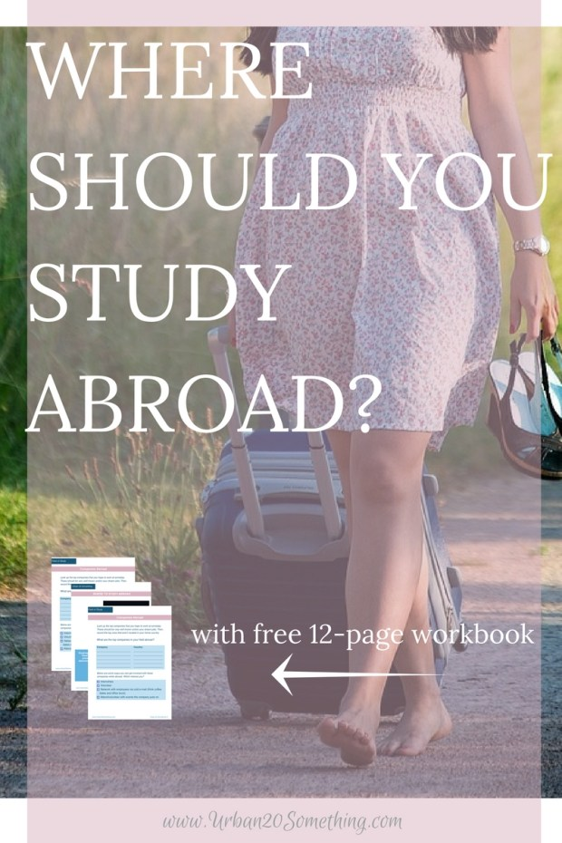 This is the ultimate guide to choosing where to study abroad and make the most of your time away! Studying abroad can boost your career, help you network, teach you a language, and so much more. This guide will completely walk you through choosing your goals and finding what country and program will help you meet them. Free complete workbook included!