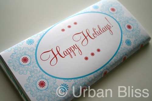 christmas candy wrapper - Urban Bliss Life