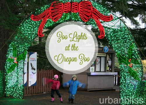 Zoo Lights - Oregon Zoo - kids