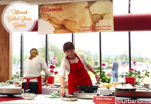 Tillamook Grilled Cheese Contest - Cooking