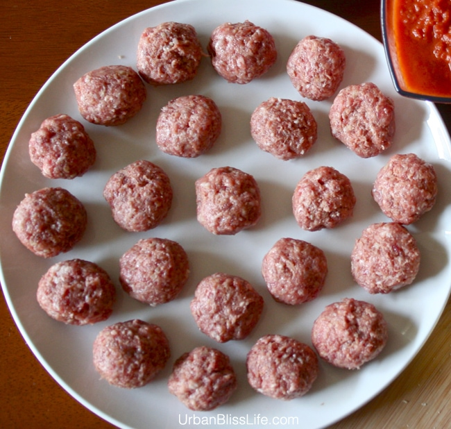 Manchego Stuffed Spanish Meatballs Recipe