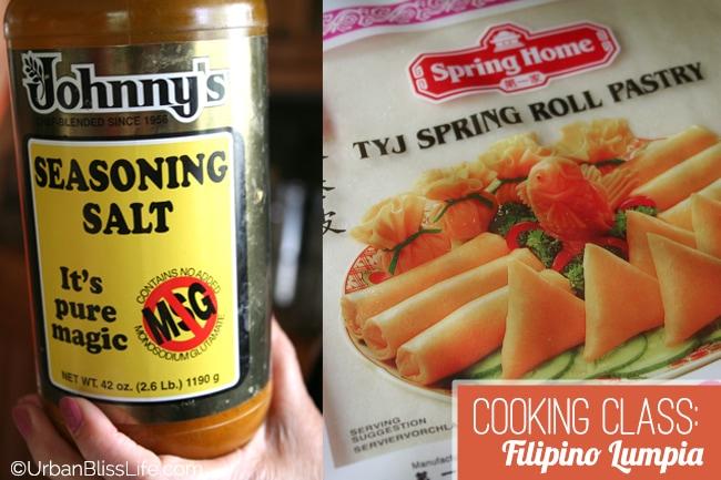 Cooking Class - Filipino Lumpia 10