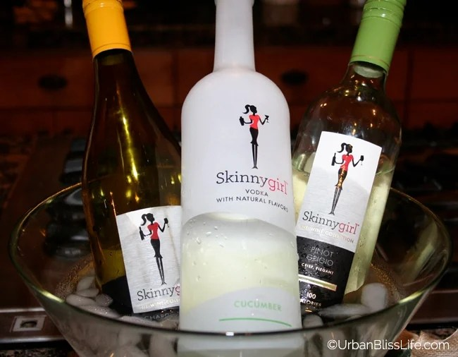 Golden Globes Skinnygirl bottles