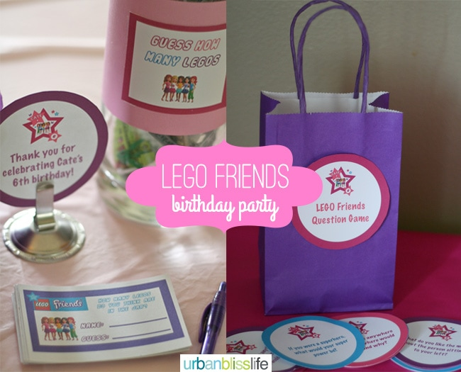 LEGO-Friends-Birthday-Party-Guesstimation-Jar - Urban Bliss Life