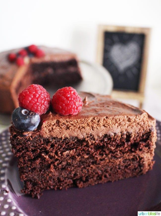 Food Bliss: Vegan Chocolate Cake That Everyone Will Love!