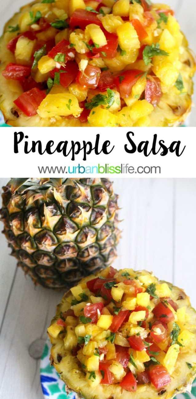 Food Bliss: Pineapple Salsa