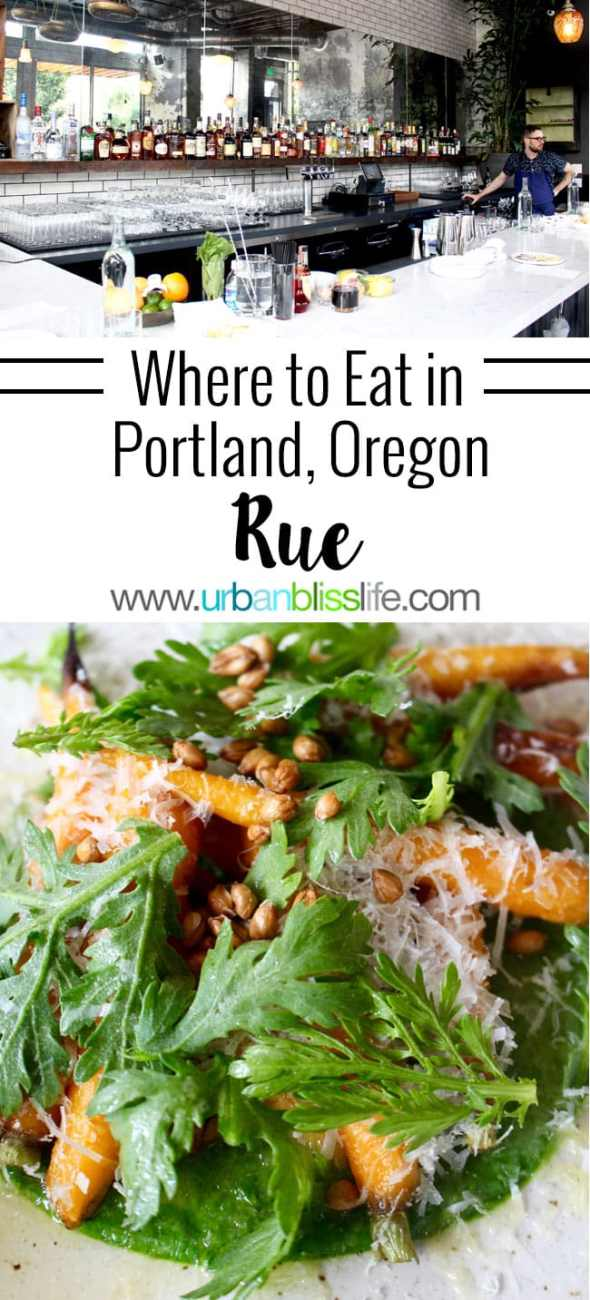 Food Bliss: RUE Serves French-Inspired, Vegetable-Forward Deliciousness