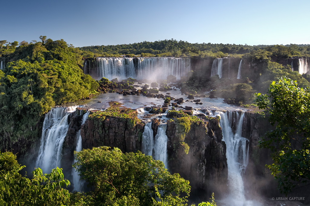 Iguazul Falls Wallpaper Waterfalls Igua 231 U National Park Brazil 171 Urban Capture