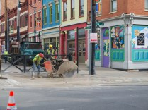 Utility Work near Findlay Market