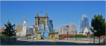 Roebling Suspension Bridge Approach [Randy Simes]