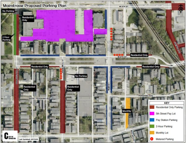MainStrasse Parking Plan [City of Covington]