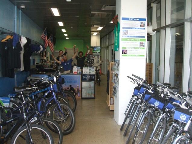Cincinnati Bike Center Interior [Eric Anspach]