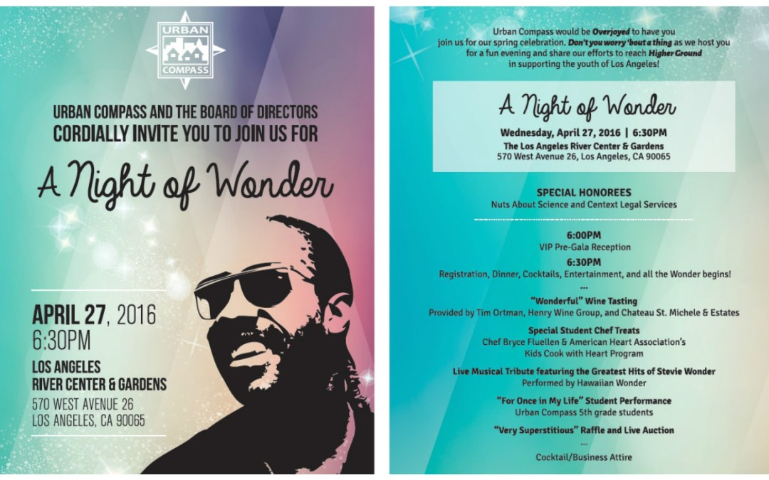 Join us for A Night of Wonder on April 27th!