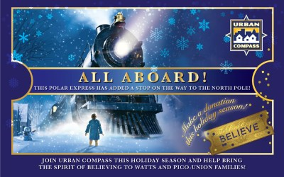 This Polar Express stops for Watts and Pico-Union kids!