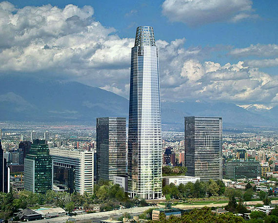 costanera center urbanews2 Ouverture en 2012 pour la plus haute tour sud amricaine 