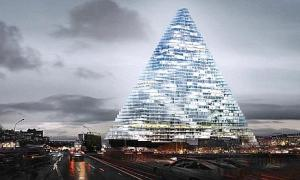 La tour Triangle, un projet de l&#039;agence Herzog &amp; de Meuron