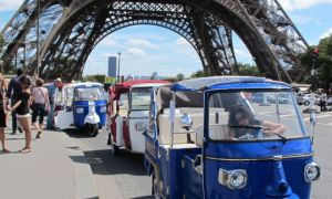 Tuk-tuks parisiens