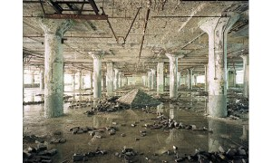 Fisher Body Plant No. 21, Interior_pyramid