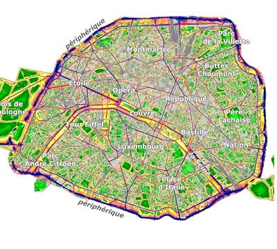 Bruit Paris Paris : un macadam test pour rduire le bruit du priphrique