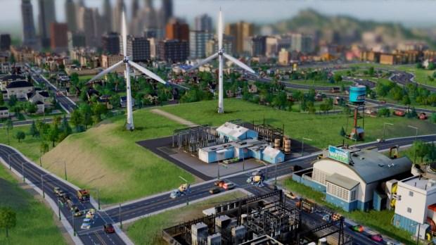 """SimCity intègre pas mal d'évolutions récentes, mais reste - malheureusement pour l'urbaniste - un """"God Game""""."""