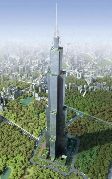 Sky City Tower - Broad Sustainable Building BSB