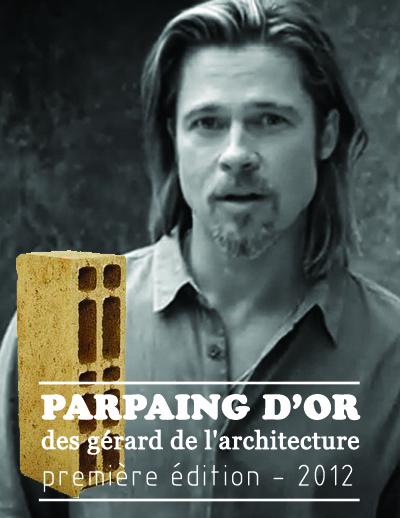 Brad Pitt – Lauréat avec 56.66% des voix.