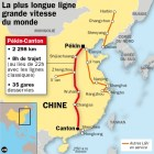 LEmpire du Milieu dot de la plus grande LGV du monde