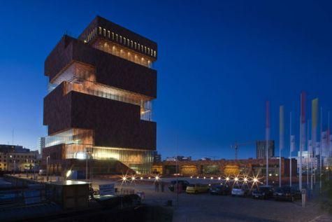 Le MAS de nuit ©Neuleings Reidijk Architecten